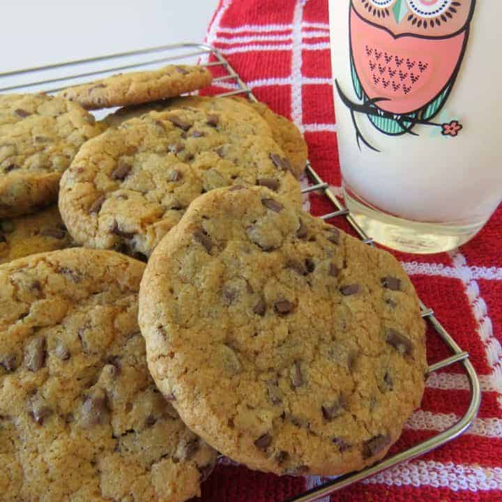 Best Ever Chewy Yummy Chocolate Chip Cookies!
