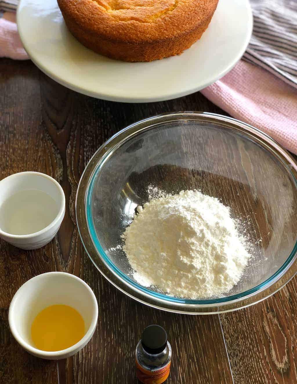 Basic Vanilla Icing