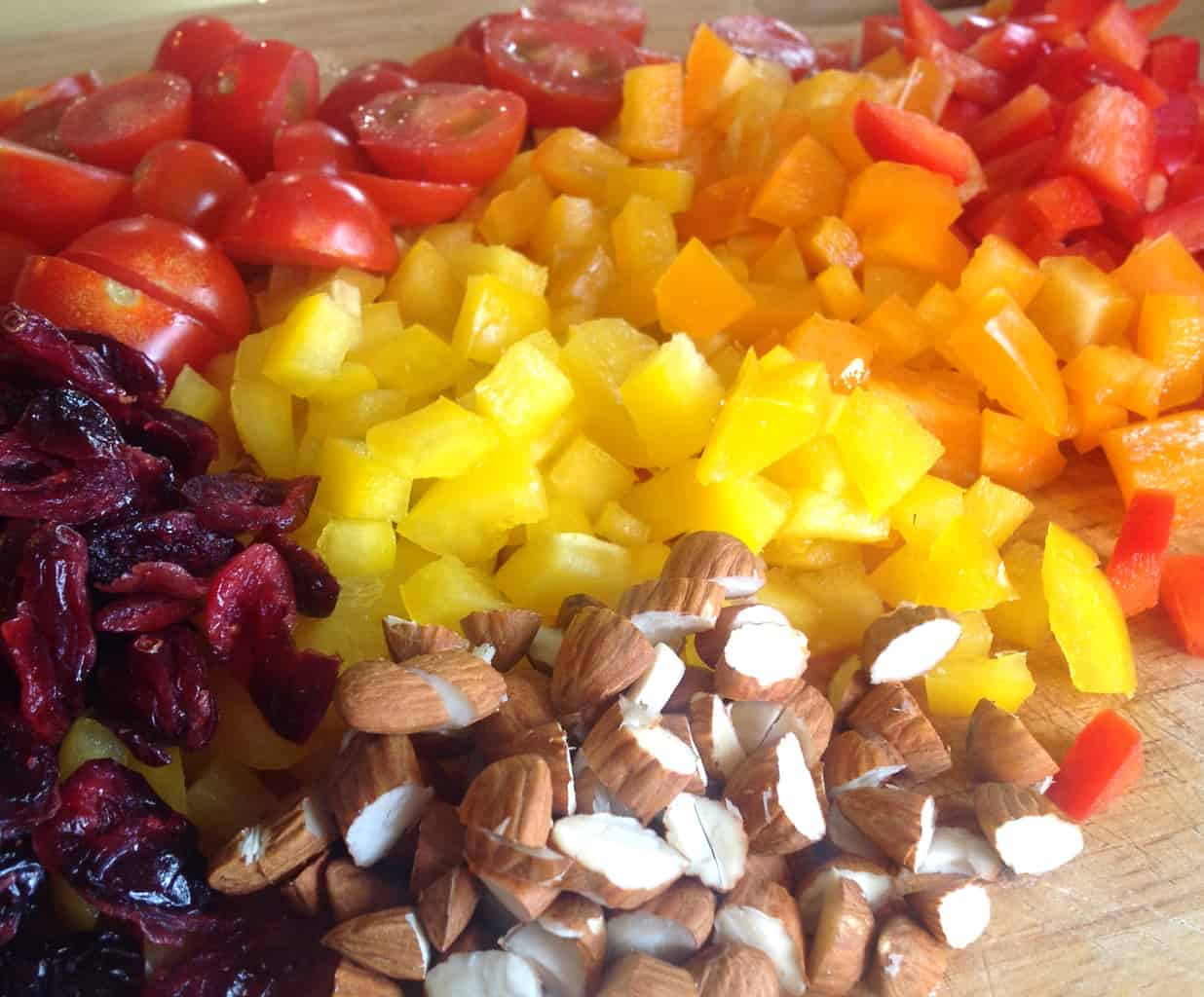 Summer Pasta Salad ingredients Just A Mum
