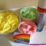 Bathtime Fun! Shaving Foam Bath Paint
