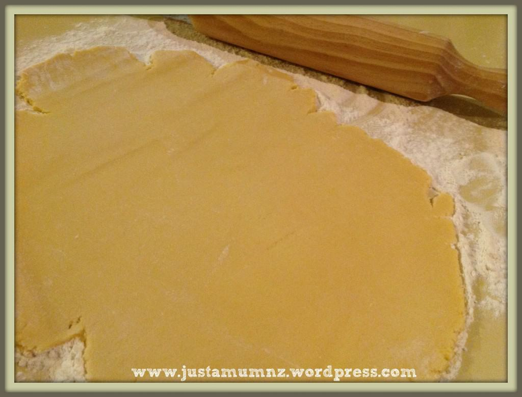 Rolled out Sweet Shortcrust Pastry