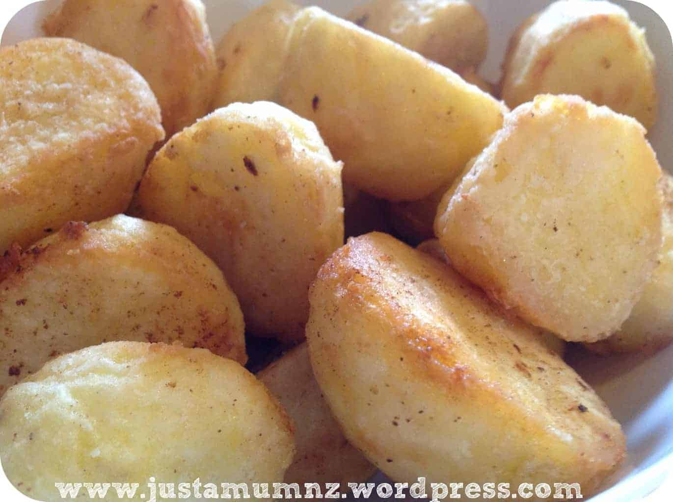 Perfect Easy Roast Potatoes with Cumin
