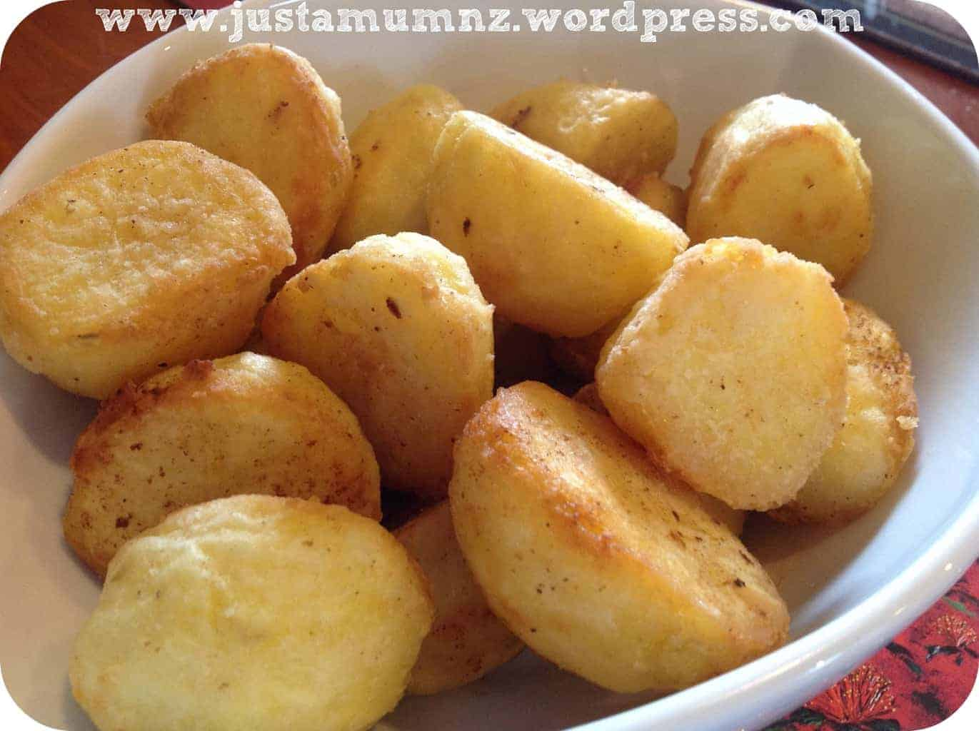 Perfect Golden Brown Roasted Potatoes