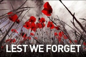 Anzac Day - Lest We Forget Poppies