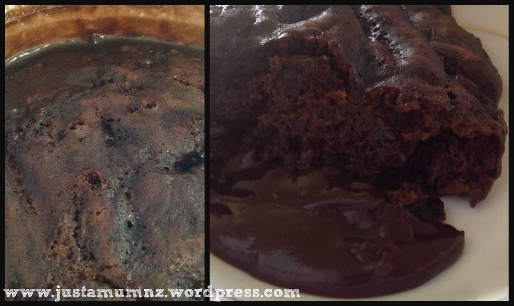 Chocolate Self Saucing Pudding 3