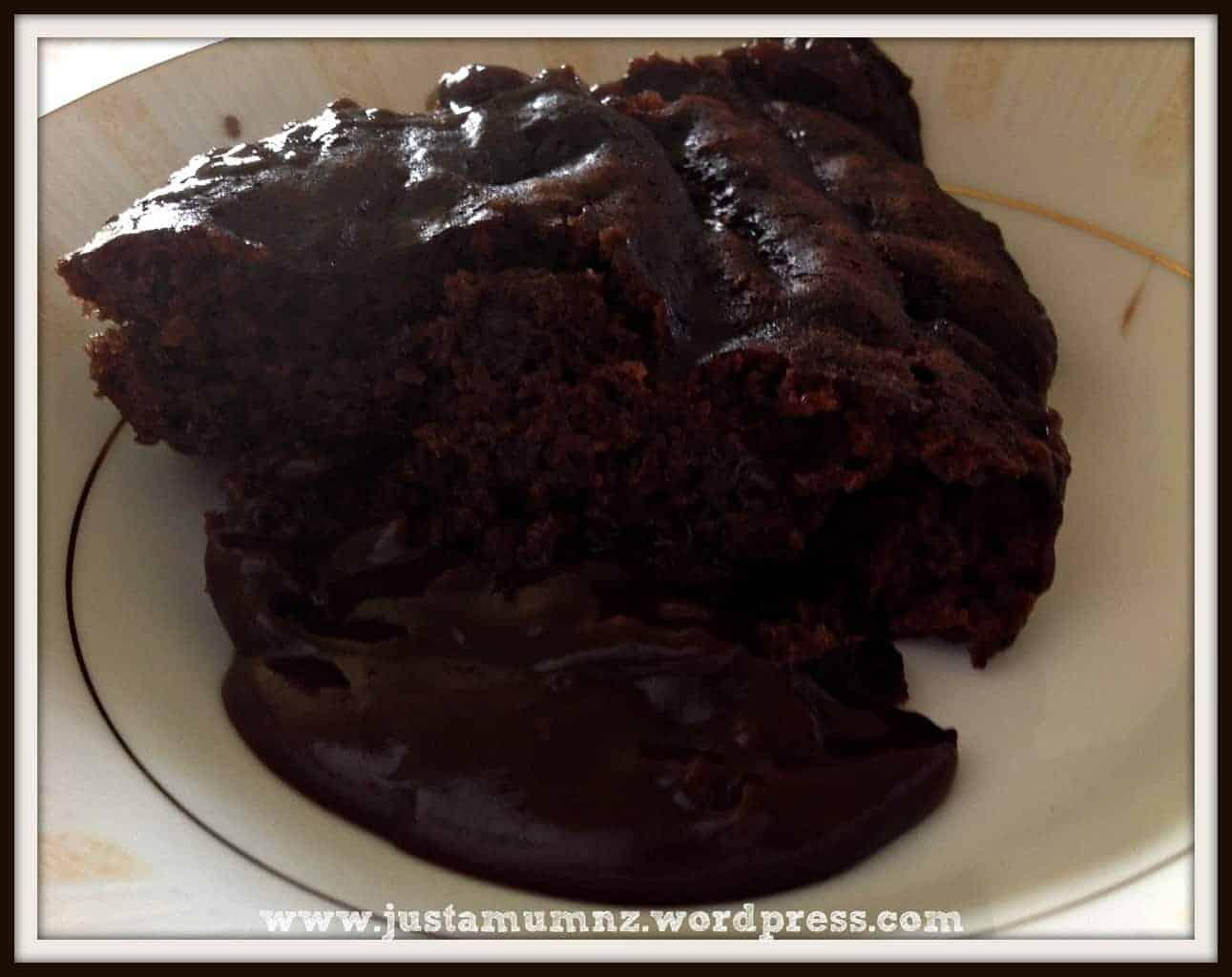 chocolate self saucing pudding 8