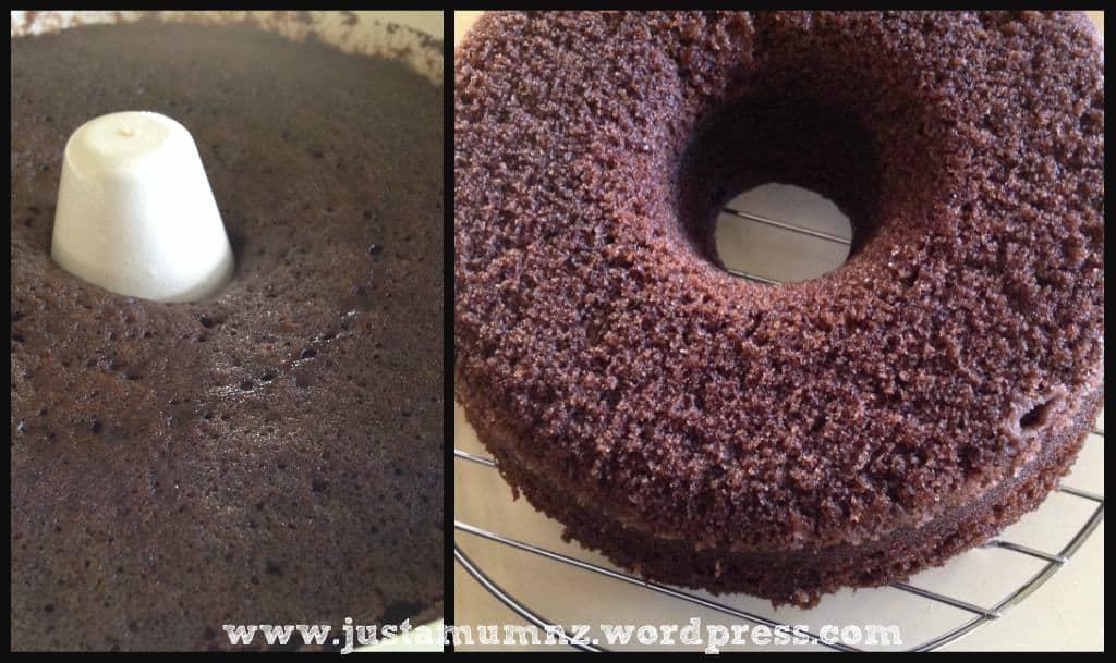 Grandma's Microwave Chocolate Cake