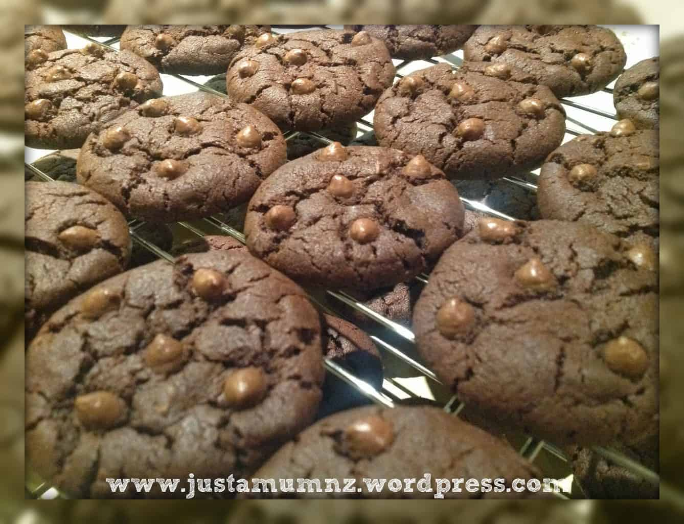 Double Chocolate Chip Cookies 3