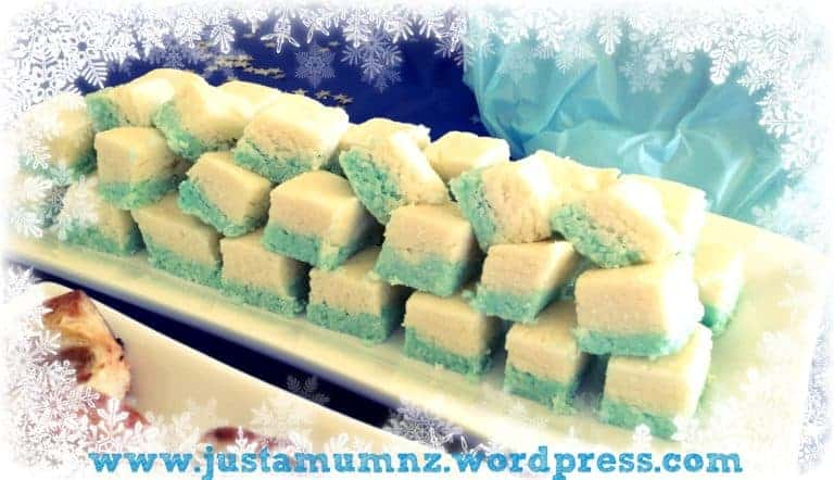 Frozen Coconut Ice by Just A Mum