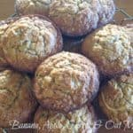 Tasty Apple, Banana, Carrot & Rolled Oats Muffins