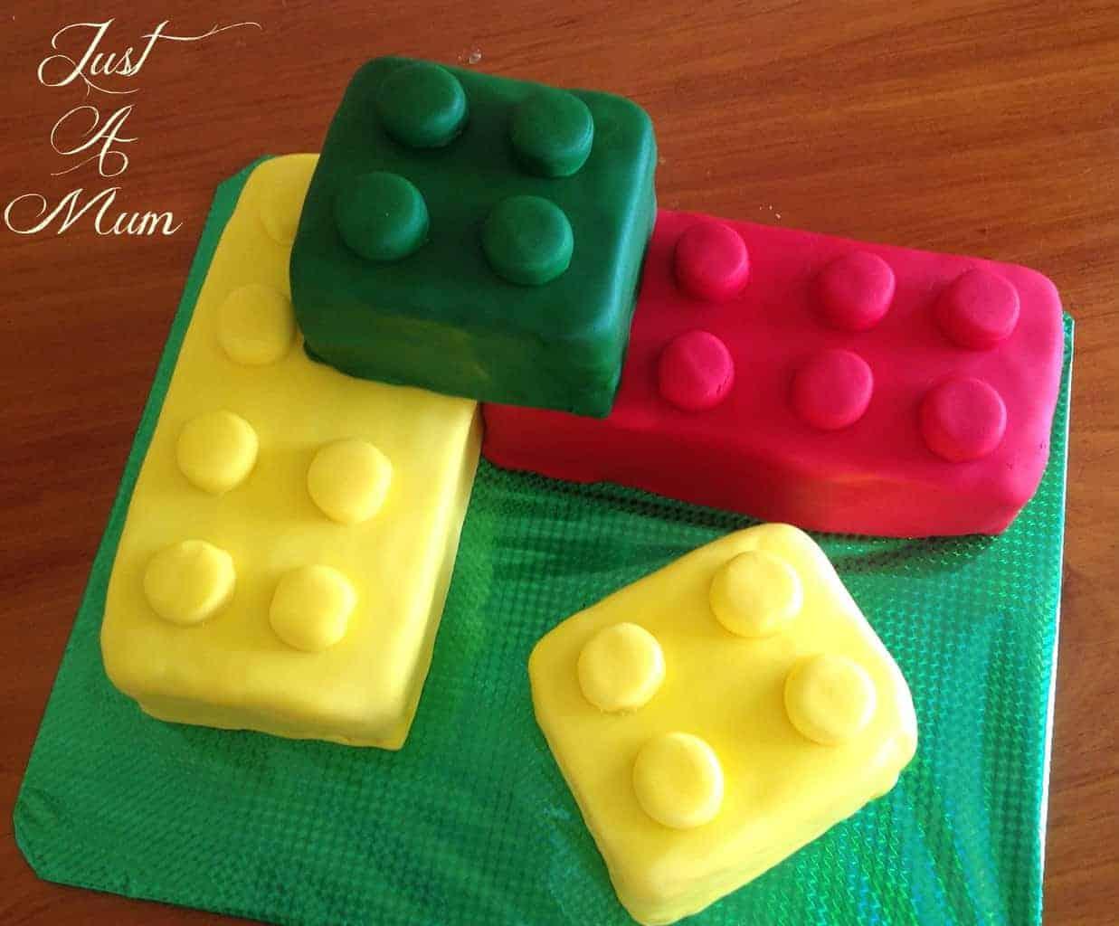 Lego Block Cake Recipe