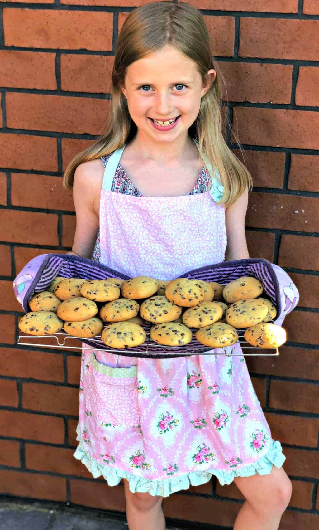 Just A Mum Orange Chocolate Chip Cookie Kids Baking