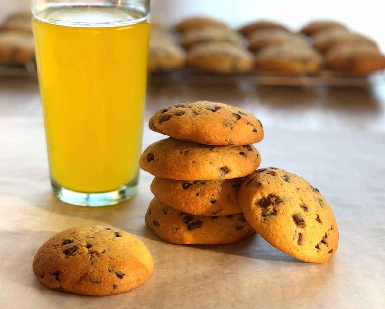 Just A Mum Orange Chocolate Chip Cookies Recipe Juice
