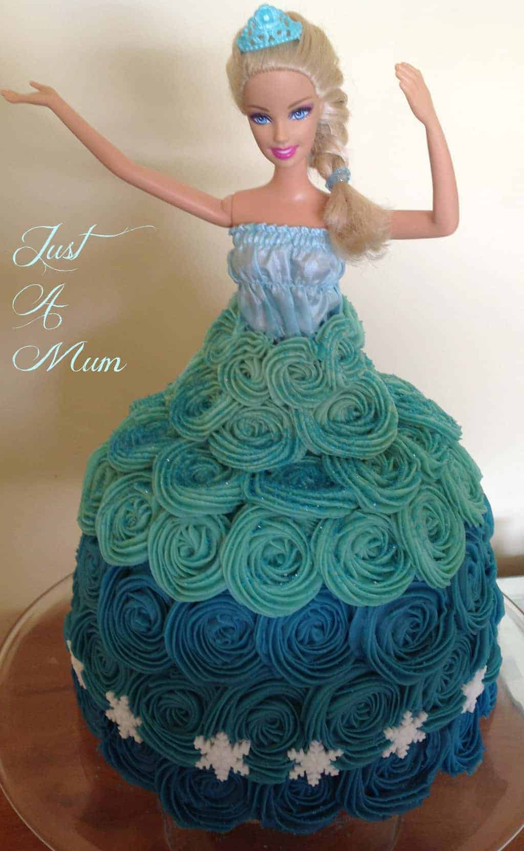Frozen Princess Elsa Cake Just a Mum
