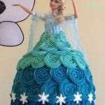 'Frozen' Princess Elsa Cake
