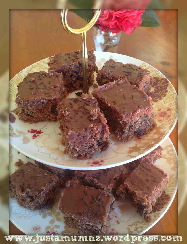 Grandmas Chocolate Slice