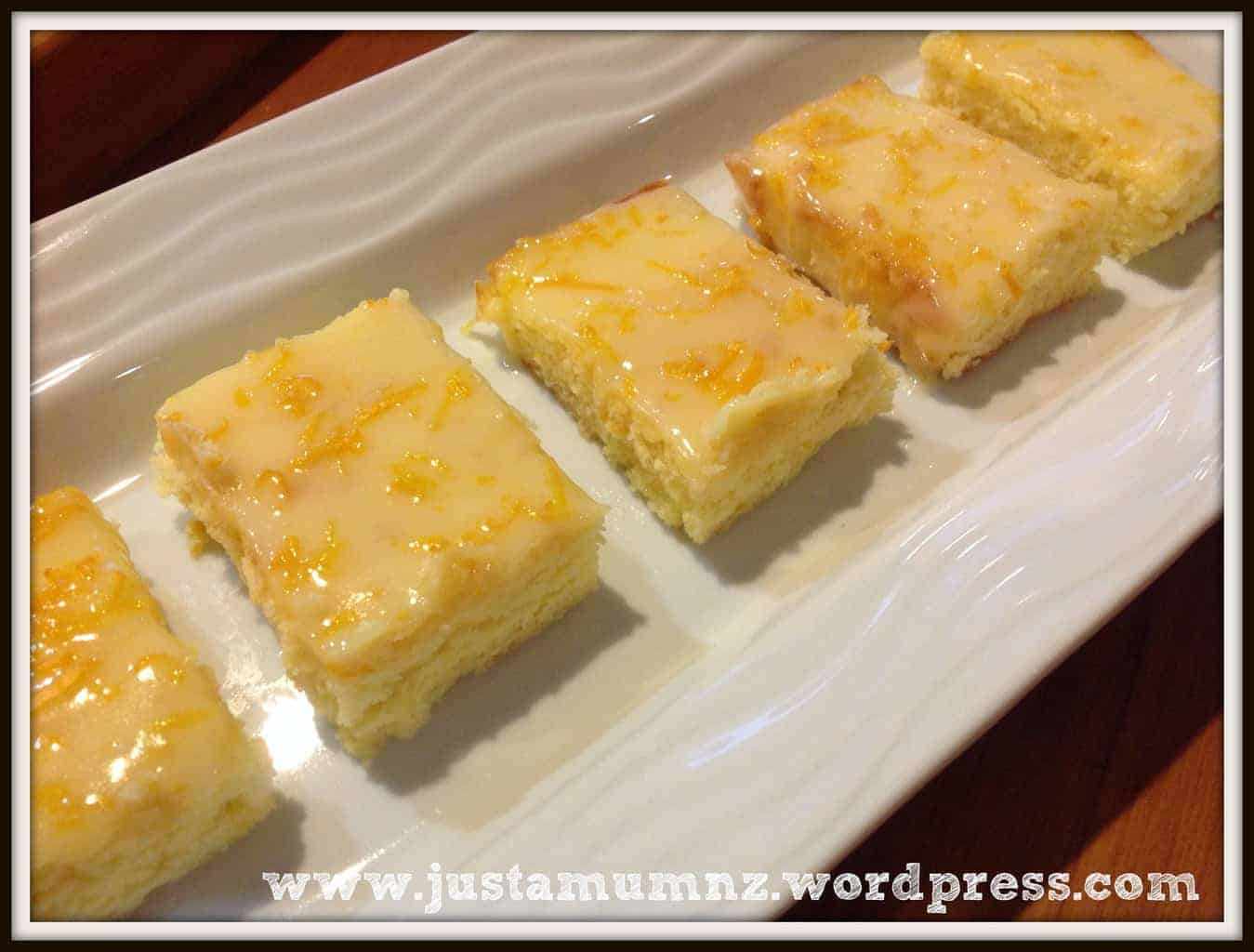 Lemon Brownies 6