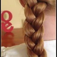 Basic Plait – Just a Mum Hairstyles
