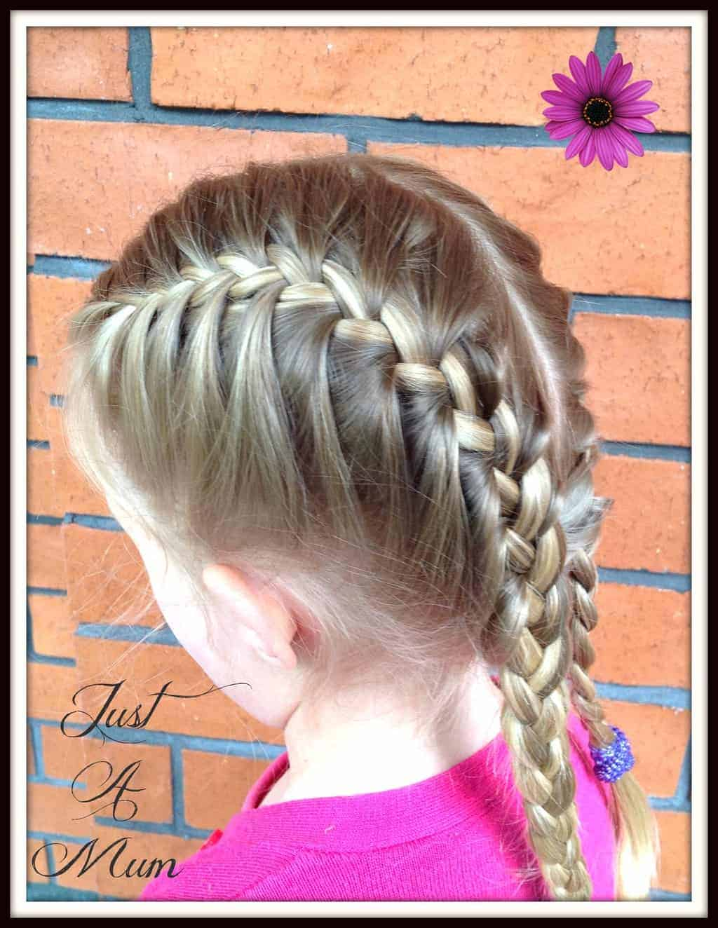 French braid tutorial just a mum hairstyles just a mum french braid ccuart Choice Image