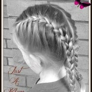 French Braid Tutorial – Just a Mum Hairstyles