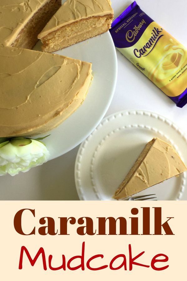 Delicious and Decadent, this caramilk mudcake is definitely one to make!