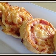 Hawaiian Pizza Scrolls