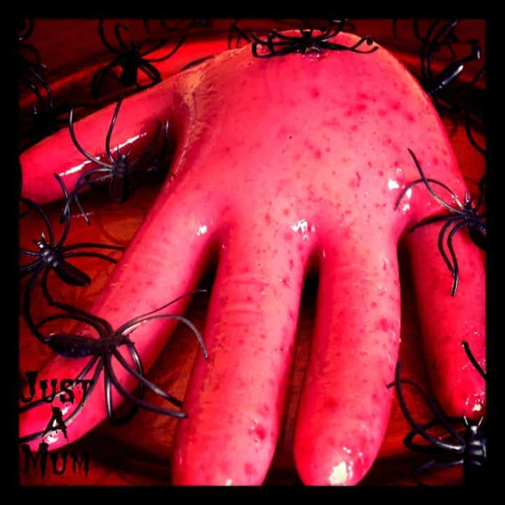 Halloween Ideas - Severed Jelly Hand