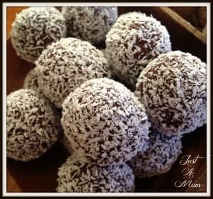 Cranberry Date Cashew Bliss Balls