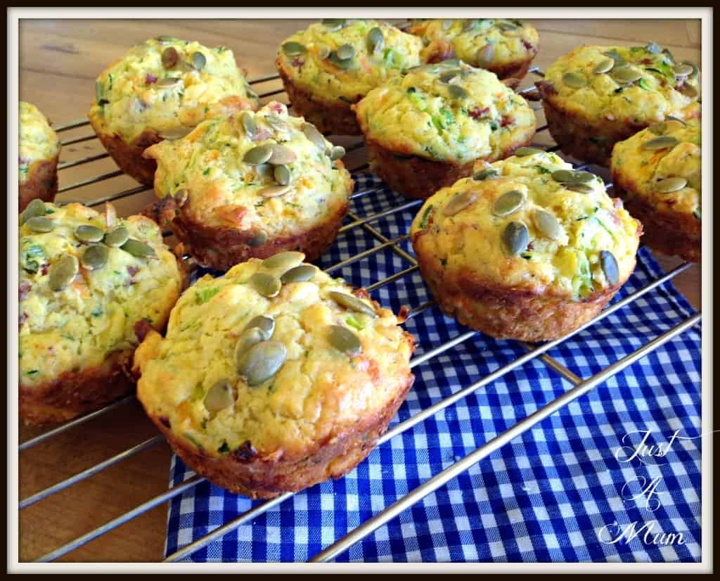 Deluxe Vege Muffins