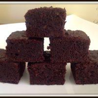 Healthy Gluten Free Chocolate Brownie