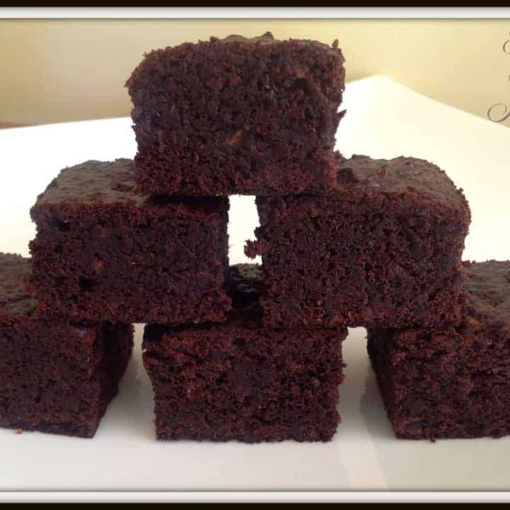 Healthy Gluten Free Chocolate Brownie