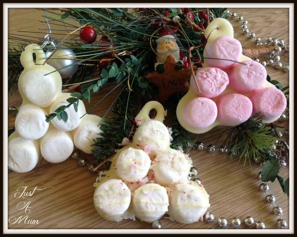 Marshmallow Xmas Trees