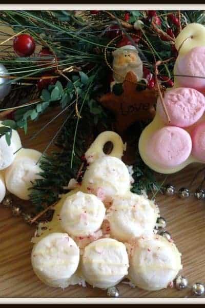 Marshmallow Christmas Trees