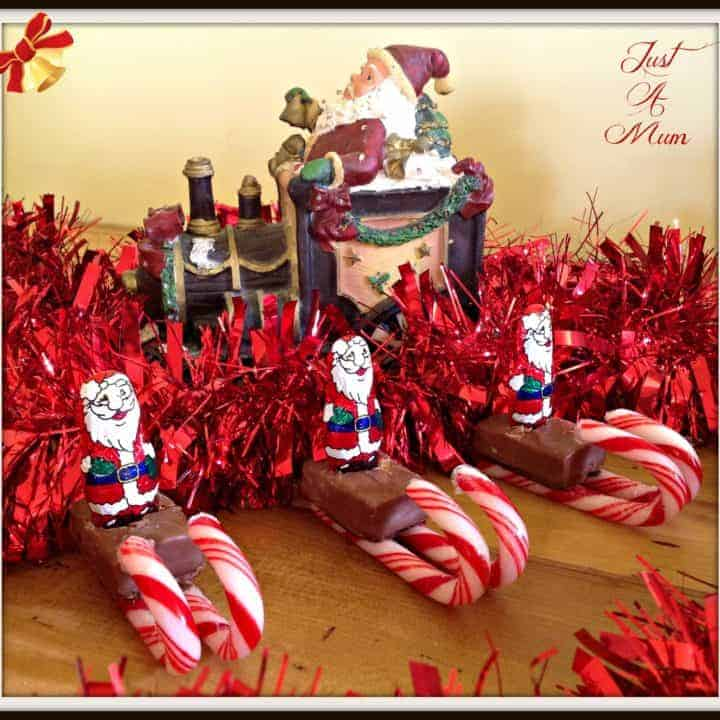 Santas Candy Cane Sleighs