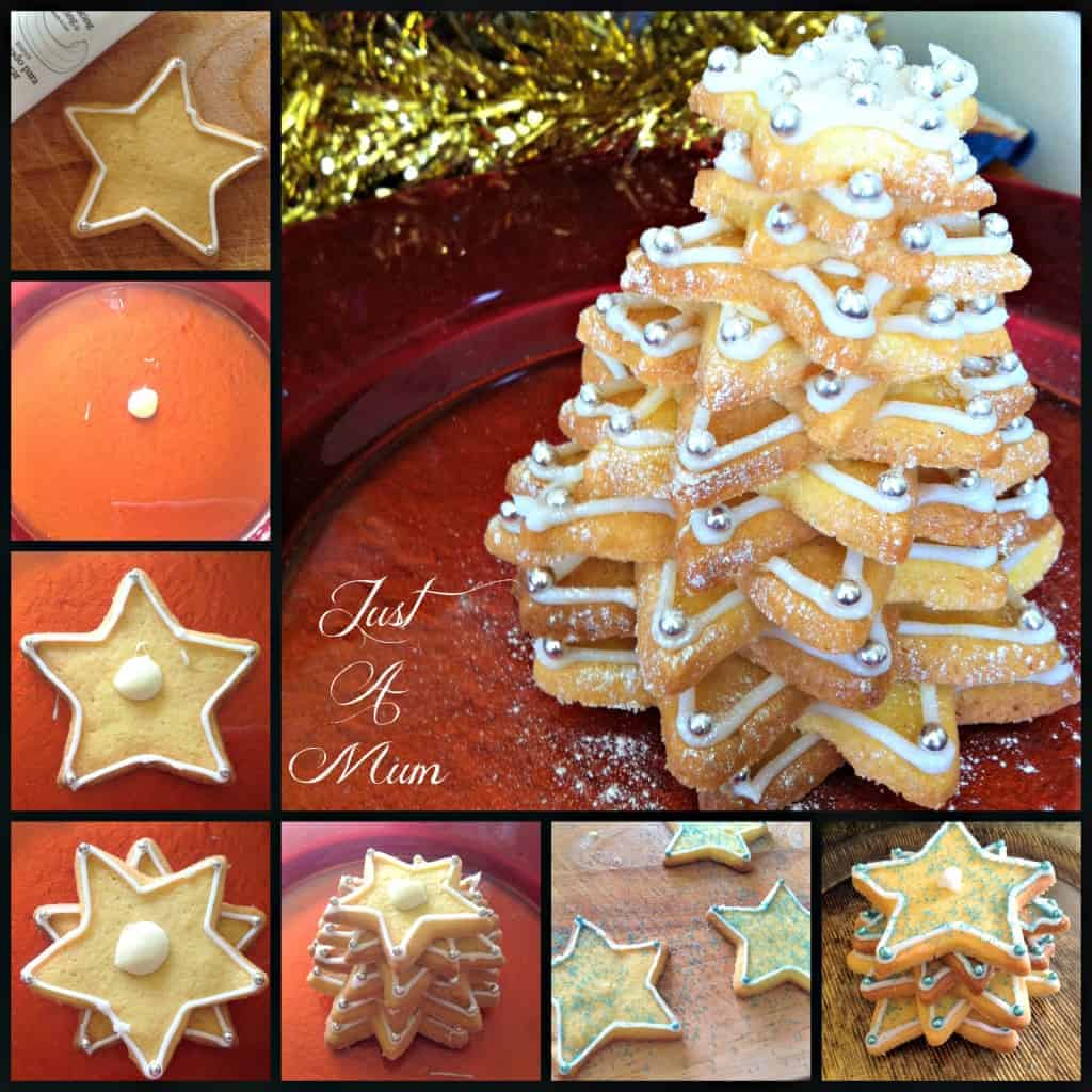 Cookie Christmas Trees