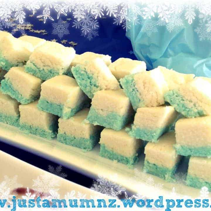 'Frozen' Coconut Ice