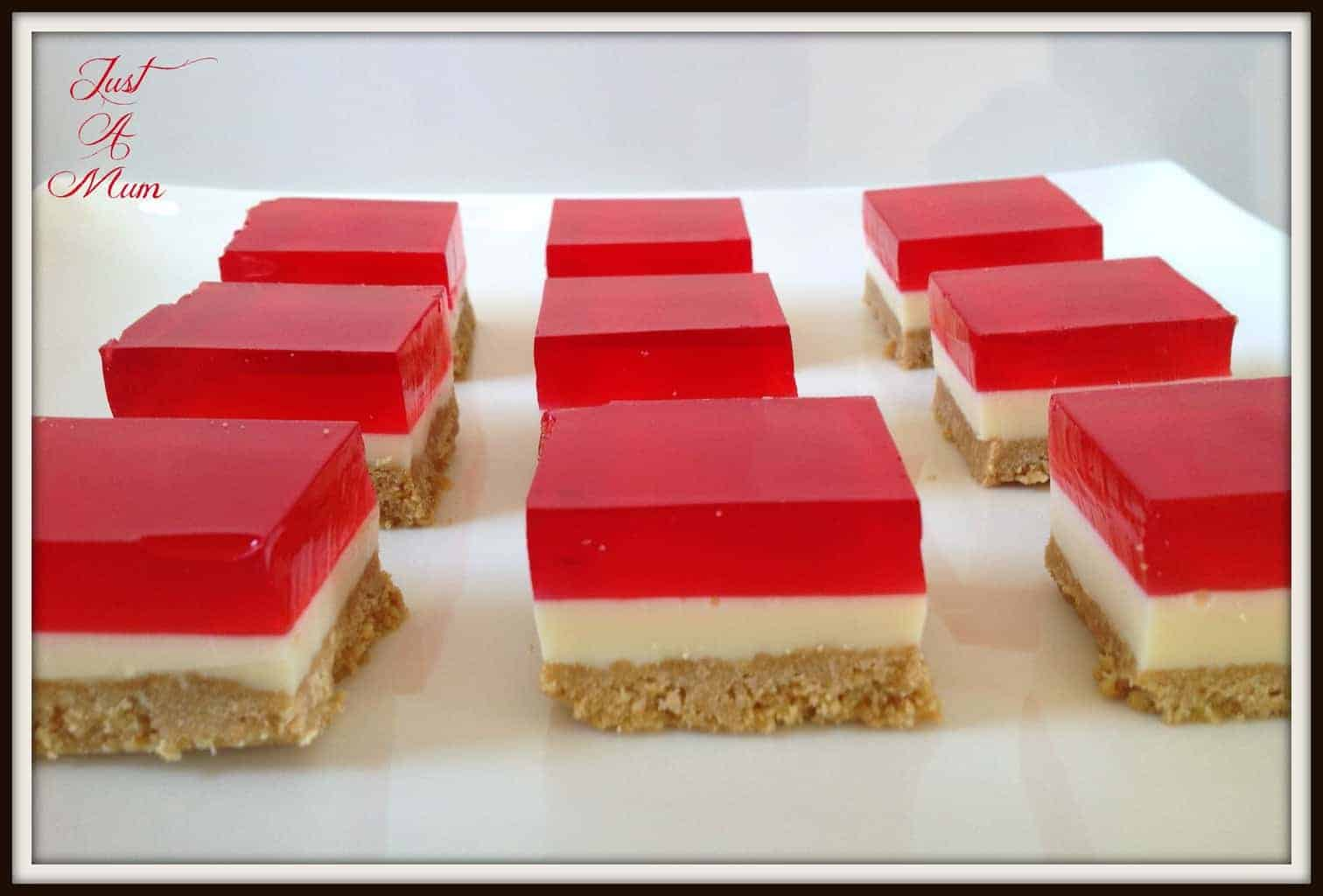 Jelly Slice – Just a Mum