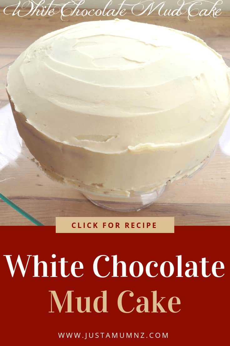 This White Chocolate Mud Cake recipe is so delicious. Rich and dense and easy to make. Perfect for birthday, weddings and special occasions. White Chocolate Ganache with Cream. #recipes #raspberries #fondant