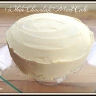 White Chocolate Mud Cake