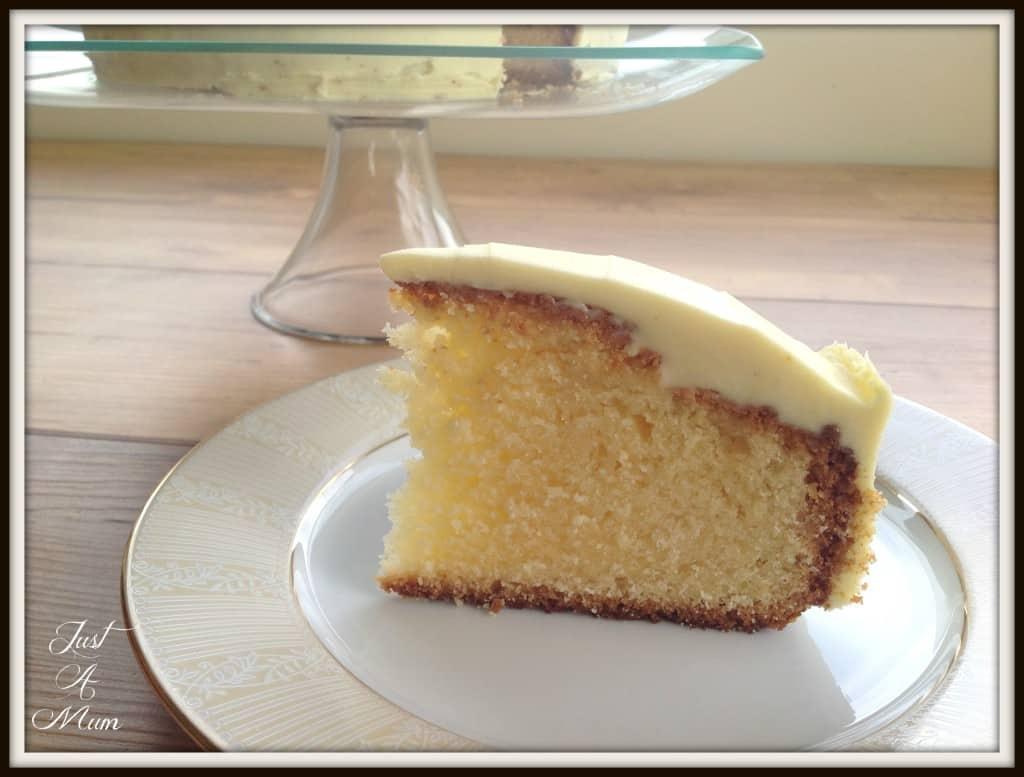 Just A Mum's White Chocolate Mud Cake