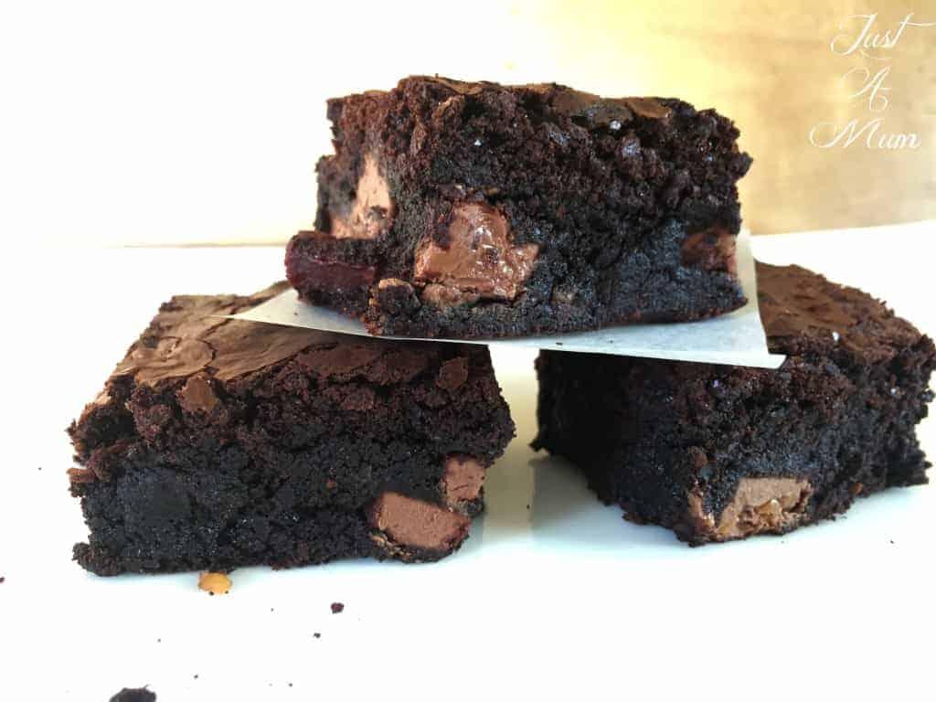 Salted Caramel Brownie 2
