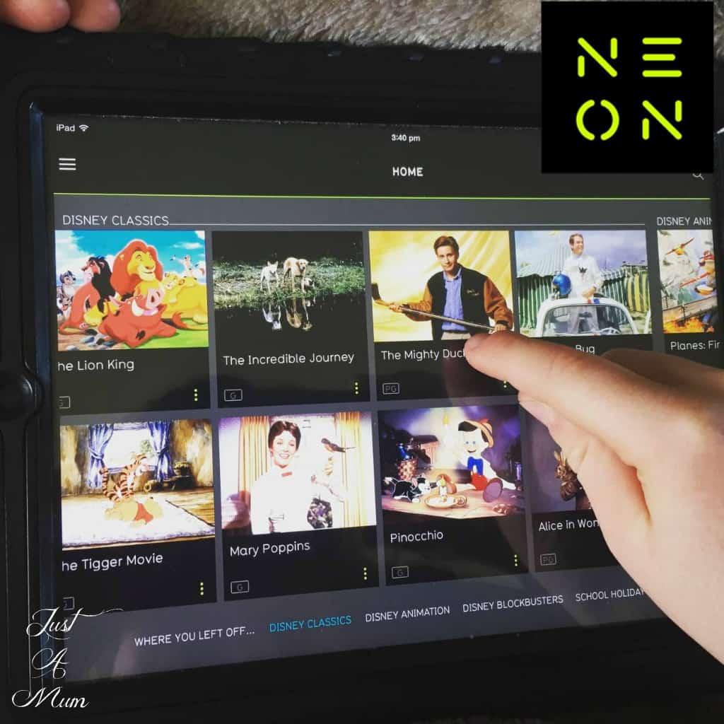 Neon TV Image