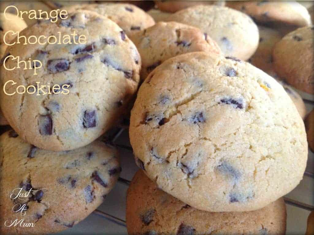 Best Cookies - Orange Chocolate Chip Cookies