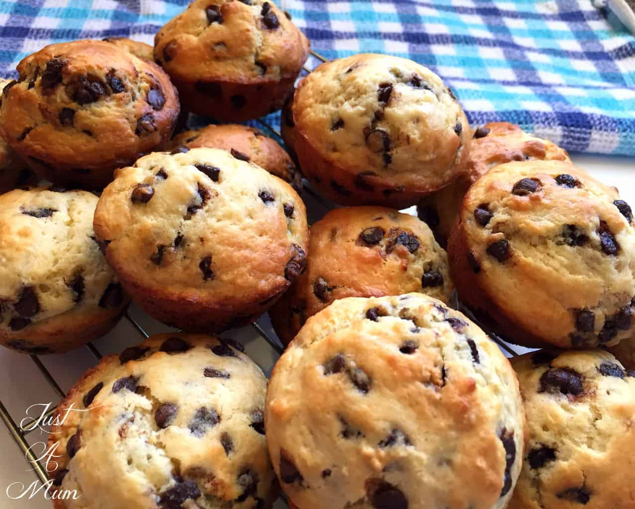 Easy Banana Chocolate Chip Muffins – Just a Mum