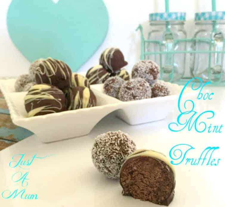 Chocolate Mint Truffles