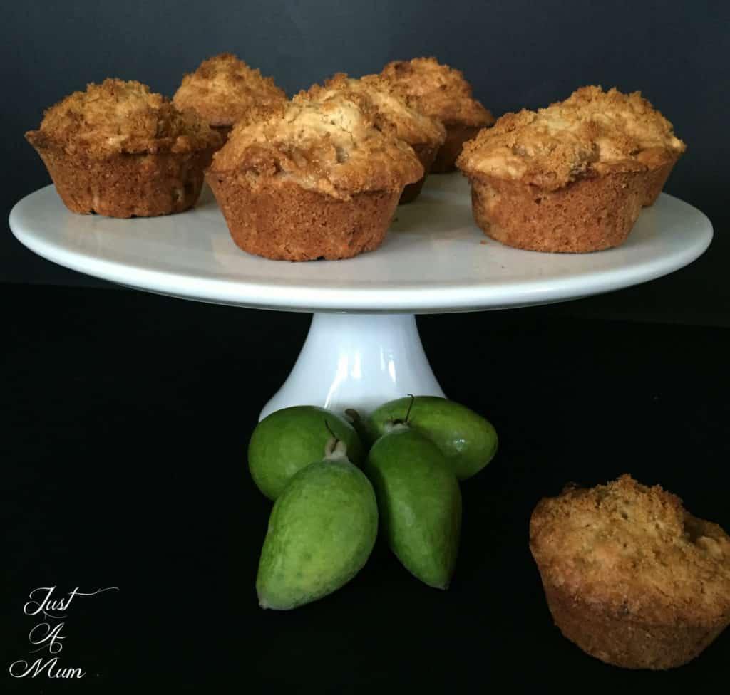 Feijoa Crunch Muffins 2