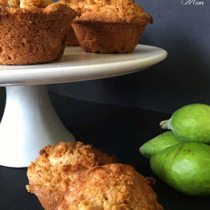 Feijoa Crunch Muffins