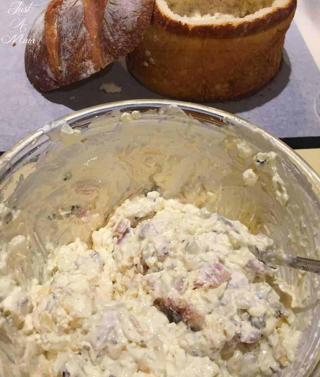 Cheese Loaf Dip - Just A Mum NZ - Dip