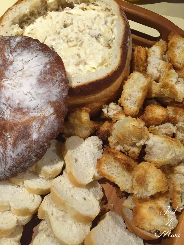 Cheese Loaf Dip  - Just A Mum NZ