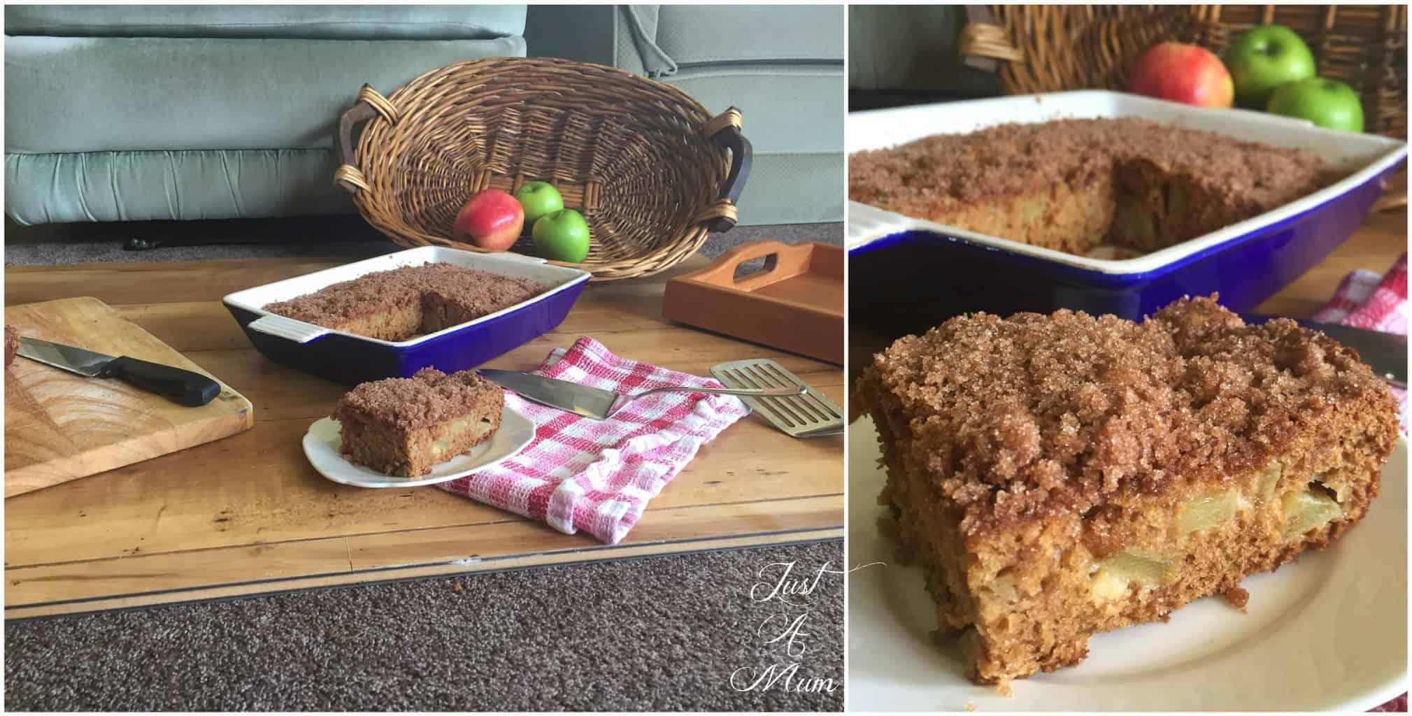 Behind the Scenes - Apple Cinnamon Cake